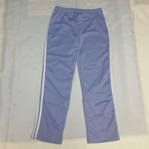 MIDNIGHT Track Pants Women's Medium Double Stripe